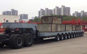 Fooc chở hàng siêu trường siêu trọng 10 trục 40 lốp